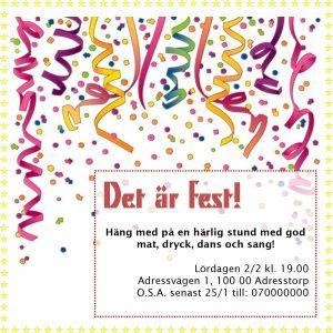 gratis mallar inbjudningskort